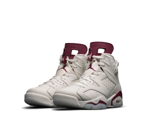 nike air jordan 6 retro off-white new maroon 384664-116 p