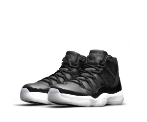 nike air jordan xi 11 retro black white 72-10 p