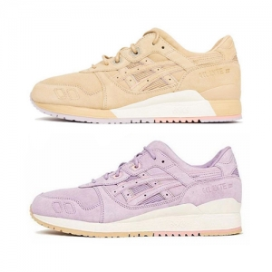asics x clot gel-lyte iii sand and lavender f