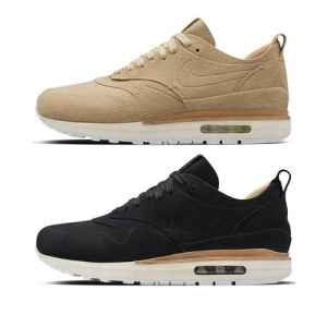 nike air max 1 royal black LINEN SUMMIT WHITE 847671-221 847671-001 f