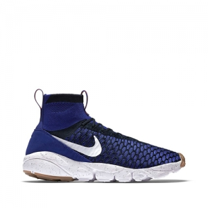nike air footscape magista flyknit Deep Royal Blue-Dark Obsidian-Gum Medium Brown-White 816560-400 f