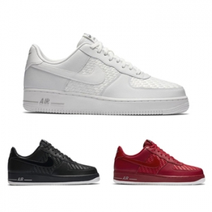 nike air force 1 woven pack white black university red 718152-605 718152-105 718152-010 f