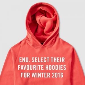 END. SELECT THEIR FAVOURITE HOODIES FOR WINTER 2016
