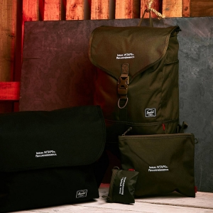HERSCHEL X WTAPS - HERSCHEL SUPPLY CO X WTAPS BAGS POUCHES