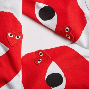 SHOP THE LATEST COMME DES GARÇONS PLAY HERE