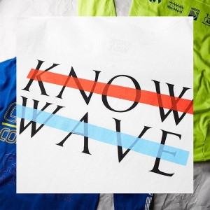 KNOW WAVE T-shirts END.