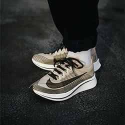 NikeLab Zoom Fly SP Dark Loden: On-Foot