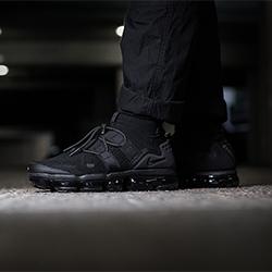 nike air vapormax flyknit utility all black