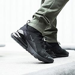 Nike Air Max 270 Triple Black: On-Foot