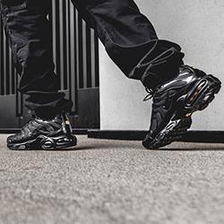 Nike Air Max Plus Tn Triple Black On Foot Shots The Drop Date