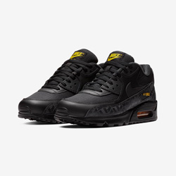 Stay Lowkey with the Nike Air Max 90 Black and Amarillo