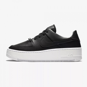 NIKE AIR FORCE 1 SAGE BLACK