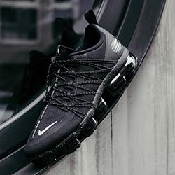 Nike Air VaporMax Run Utility Black and
