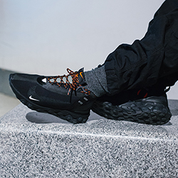 cuerda mi Won  Nike React Runner Mid WR ISPA Black: On-Foot Shots - The Drop Date