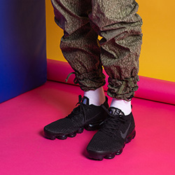 Nike Air VaporMax Flyknit 3 Black and