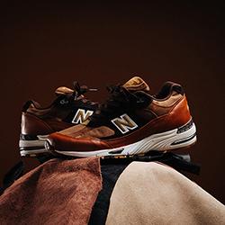 New Balance 991 Made in UK Burnt Orange
