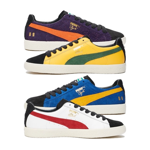 puma x the hundreds clyde - AVAILABLE NOW - The Drop Date