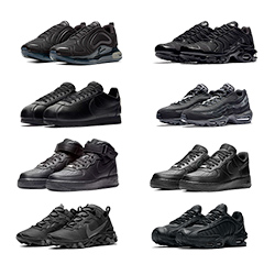 Nike Triple Black Round-Up - The Drop Date