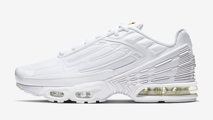 Nike Air Max Plus 3 Triple White