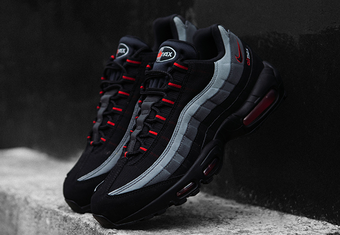 Nike Air Max 95 Essential Grey And Red