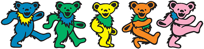 Nike SB Dunk Low 'Grateful Dead Bears'