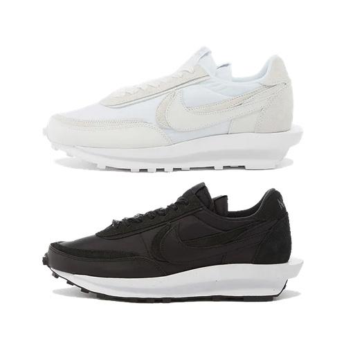 Nike x Sacai LDWaffle - Black \u0026 White
