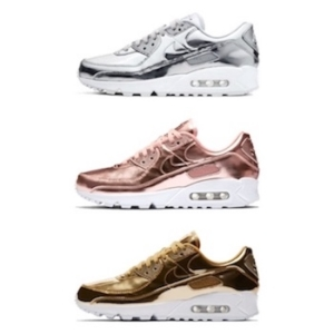 NIKE WMNS AIR MAX 90 Metallic Pack AVAILABLE NOW The