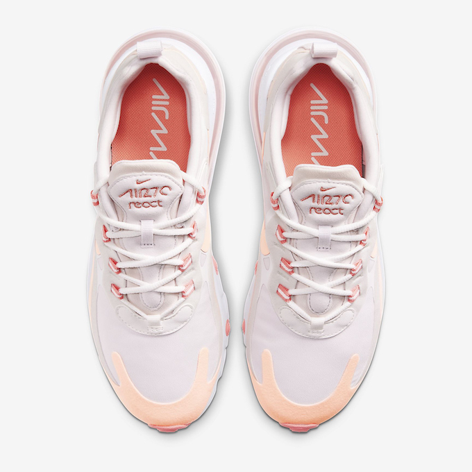 Nike Wmns Air Max 270 React Crimson Tint