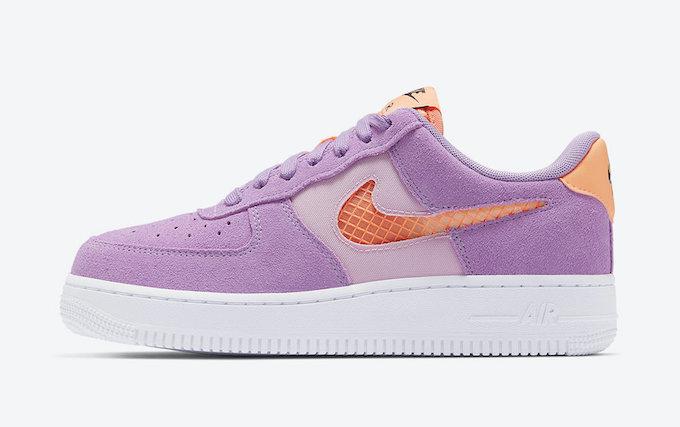 Nike WMNS Air Force 1 07 Violet Star CJ1647-500