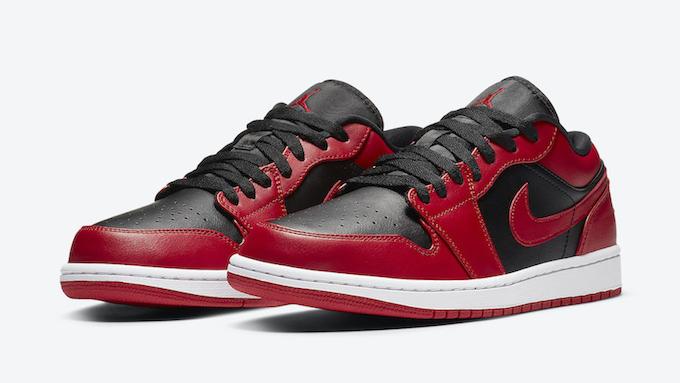 Nike Air Jordan 1 Low Varsity 553558 606 Tdd