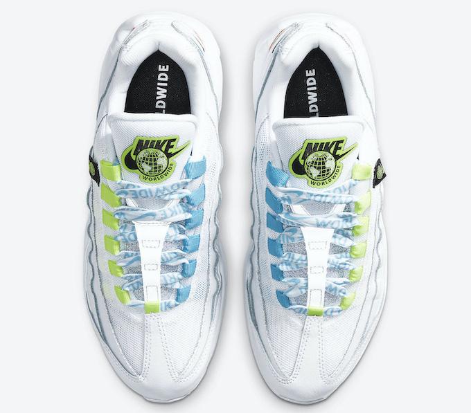 Nike Air Max 90 SE and Air Max 95 Worldwide CK7069-100 CV9030-100