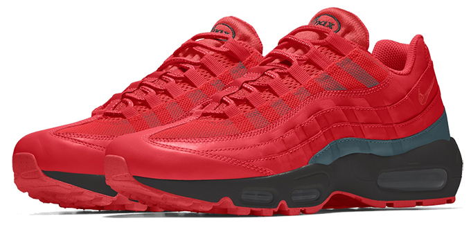Nike Air Max 95 Unlocked By You - The Drop Date
