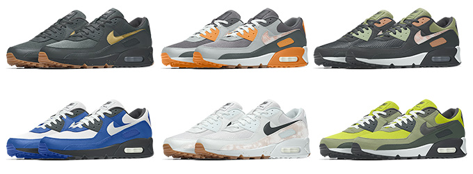 Nike Air Max 90 Unlocked By You - The