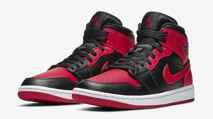 Nike Air Jordan 1 Mid Bred 554724-074