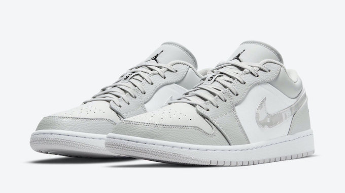 Nike Air Jordan 1 Low White Camo DC9036