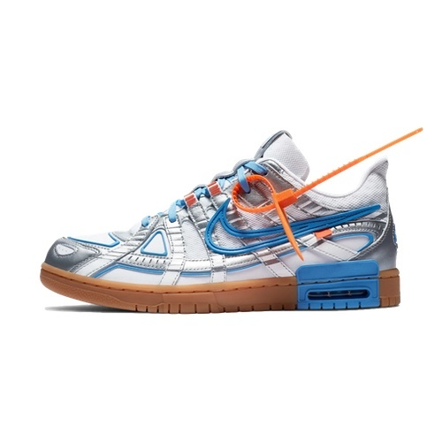 Imperio rutina O después  NIKE X OFF WHITE AIR RUBBER DUNK - UNIVERSITY BLUE - AVAILABLE NOW - The  Drop Date