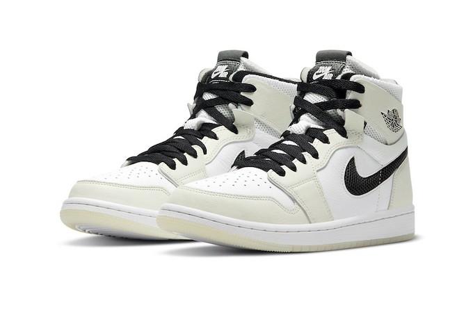 Nike Air Jordan 1 Zoom CMFT Light Bone CT0979-002 - TDD