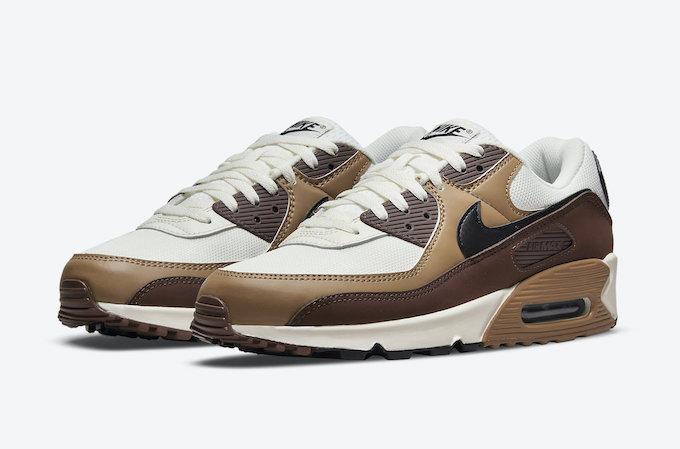 Nike Air Max 90 95 Dark Driftwood - The Drop Date
