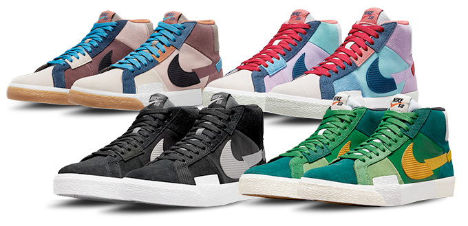 Nike SB Zoom Blazer Mid Premium Mosaic DA8854-