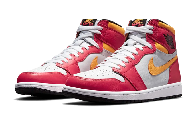 Nike Air Jordan 1 Light Fusion Red