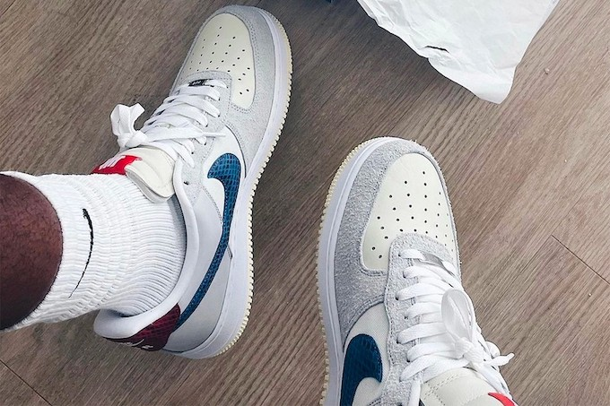Nike x UNDEFEATED Air Force 1 Low Dunk vs AF1 - TDD