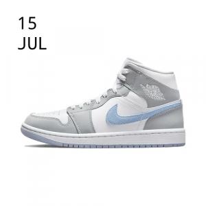 Nike Air Jordan 1 Mid Wolf Grey
