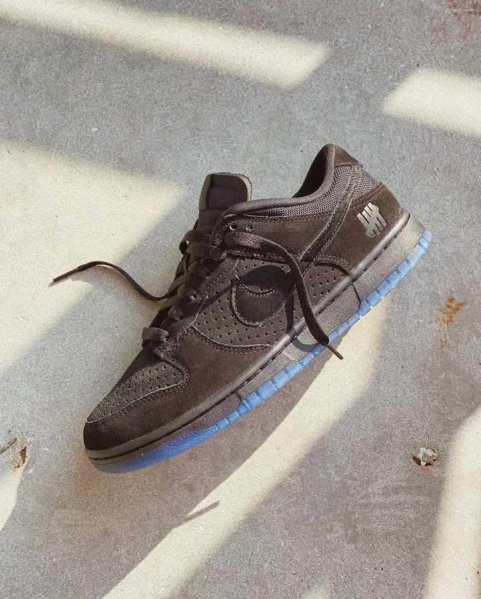 Nike x Undefeated Dunk vs AF1 Dunk Low DO9329-001