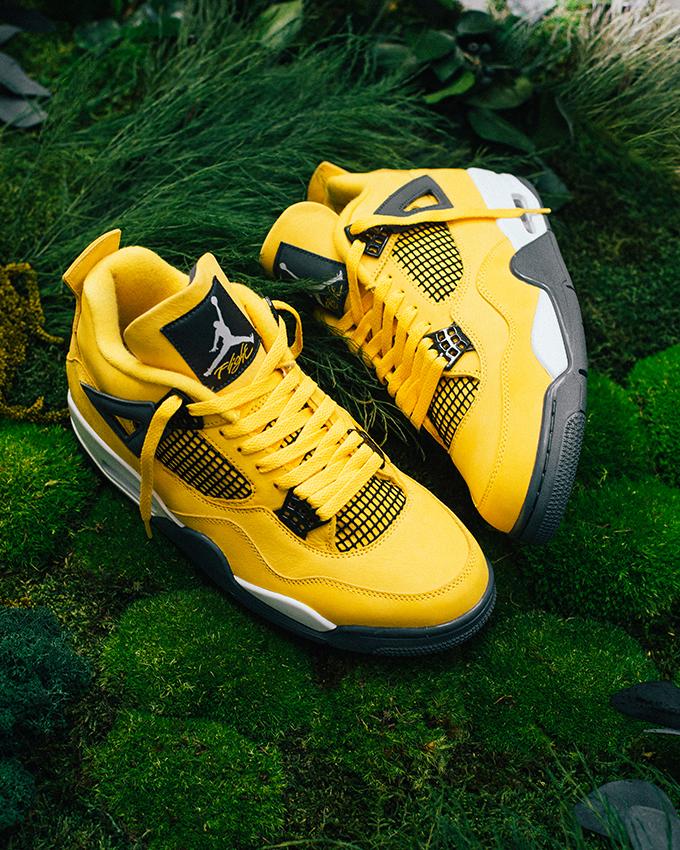 Nike Air Jordan 4 Retro Lightning CT8527-700 - TDD