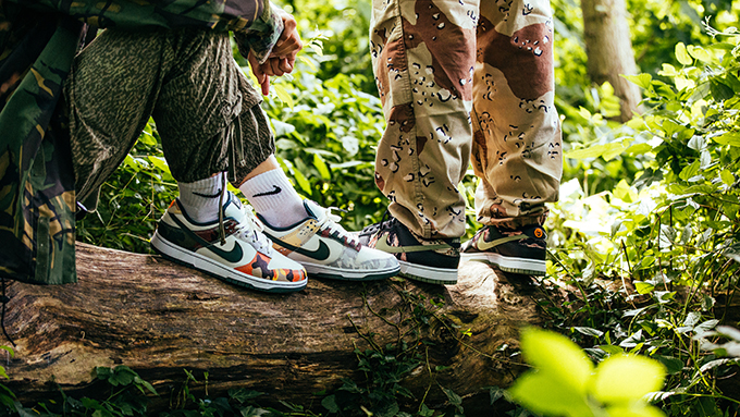 Nike Dunk Low Multi Camo Pack DH0957-001 DH0957-100