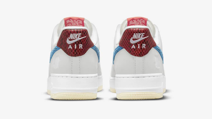 Nike x UNDEFEATED Air Force 1 Low 5 On It