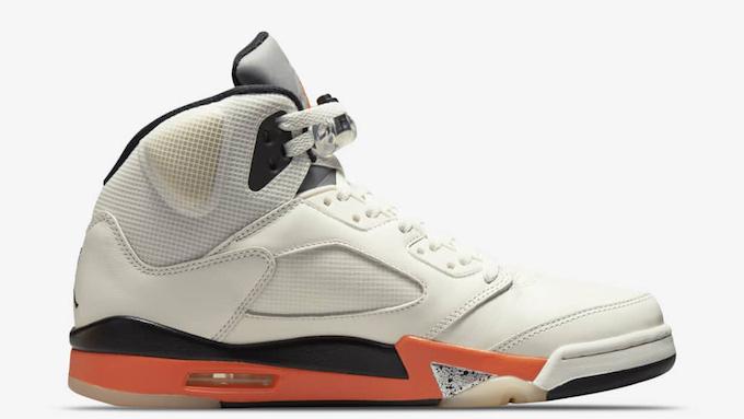 Nike Air Jordan 5 Orange Blaze DC1060-100 - TDD
