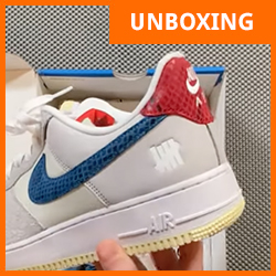 Nike x Undefeated Air Force 1 5 on It DM8461-001 - TDD