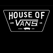 HOUSE OF VANS LONDON: OPENING 9TH OF AUGUST