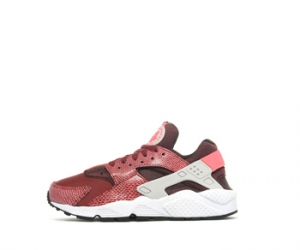 Nike Air Huarache LE team red light ash burgundy f